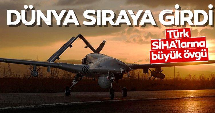 Son dakika: Türk SİHA'ları dünyanın gündeminde! Sıraya girdiler