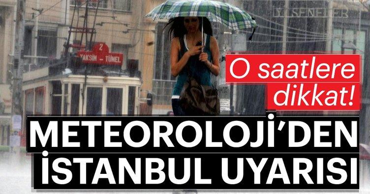 Meteoroloji'den son dakika İstanbul hava durumu uyarısı! Hava durumunda sabah ve öğle saatlerine dikkat!