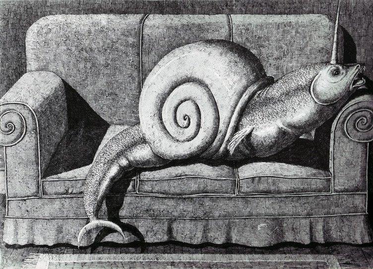 Edward Gorey'in unutulmaz illüstrasyonları