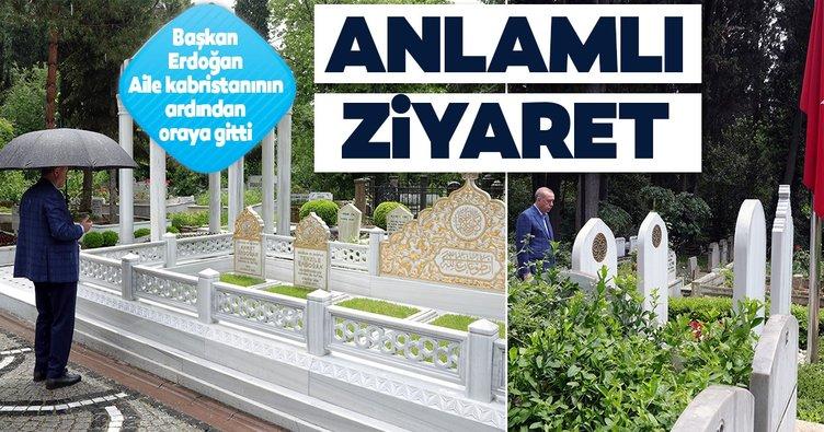 Cumhurbaşkanı Erdoğan'dan mezarlık ziyareti! Anne ve babasının ardından oraya gitti...