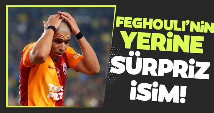 Galatasaray'da Feghouli'nin yerine sürpriz isim!