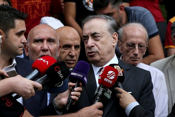 Galatasaray'da Mustafa Cengiz - Fatih Terim zirvesi