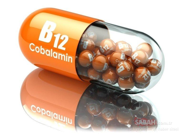 Bu besinler B12 deposu...