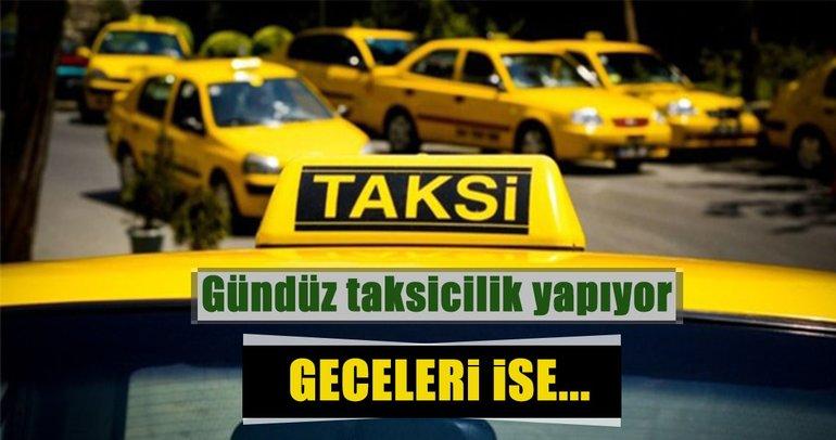 Adana'da 'torbacı' taksiciye polis baskını