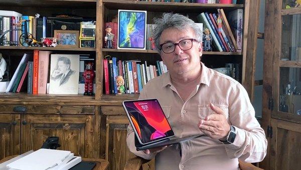 Yeni iPad Pro sihirli klavyesine kavuştu | Video