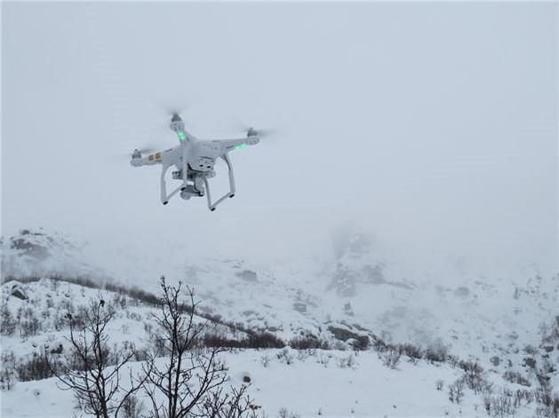 Drone'lu operasyon nefes kesti!