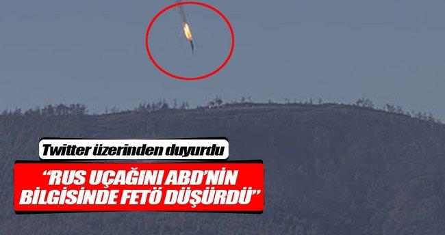 """""""Rus uçağını ABD'nin bilgisinde FETÖ düşürdü"""""""