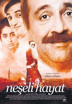 Neşeli Hayat filmi afişleri