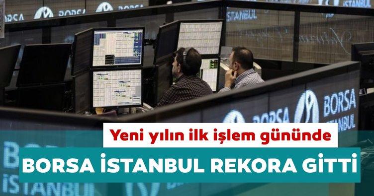 Borsa İstanbul yeni yılın ilk işlem gününde rekora gitti!: 1500 puanı gördü
