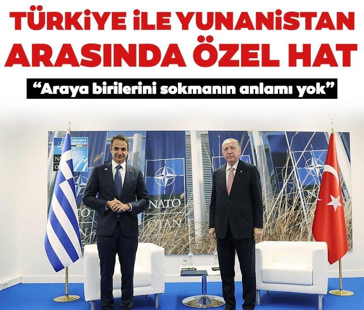 Başkan Erdoğan, Miçotakis ile yaptığı görüşmenin detaylarını açıkladı