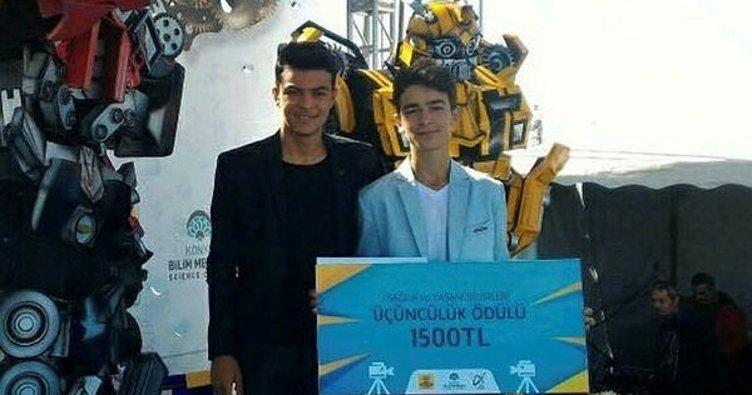 Kısa film yarışmasında Türkiye üçüncüsü oldular