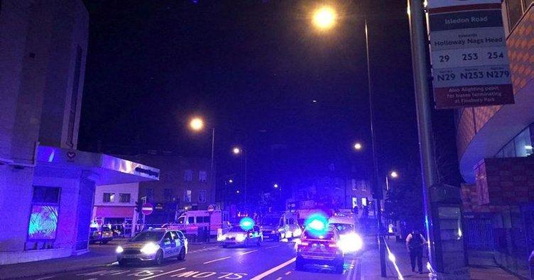 SON DAKİKA: Londra'da Müslümanları hedef alan araçlı saldırı