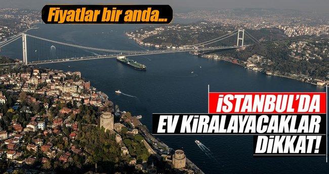 İstanbul'da kira fiyatları düştü