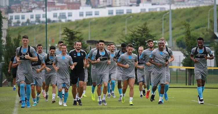 Trabzonspor, Sparta Prag maçına hazırlanıyor