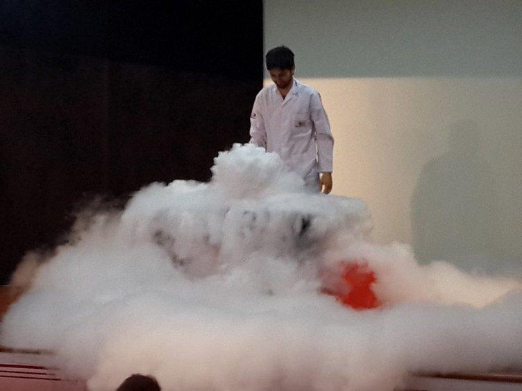 Şişli'de polis anaokulu öğrencilerine bilimi sevdirdi