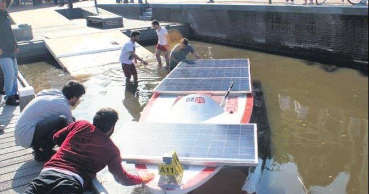 Güneş enerjili tekne için destek arıyorlar