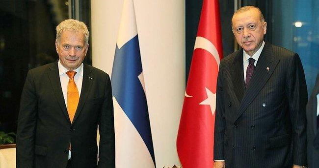 Başkan Erdoğan, Finlandiya Cumhurbaşkanı Niinistö ile görüştü