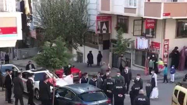 Polisin uyarılarını hiçe saydılar, halay çekip, oynadılar | Video