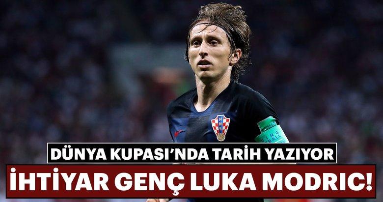 Dünya Kupası'nda tarih yazıyor: İhtiyar genç Luka Modric