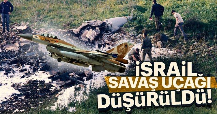İsrail'in F-16'sı düşürüldü!