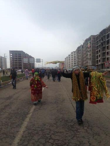 Diyarbakır'da tarihi nevruz