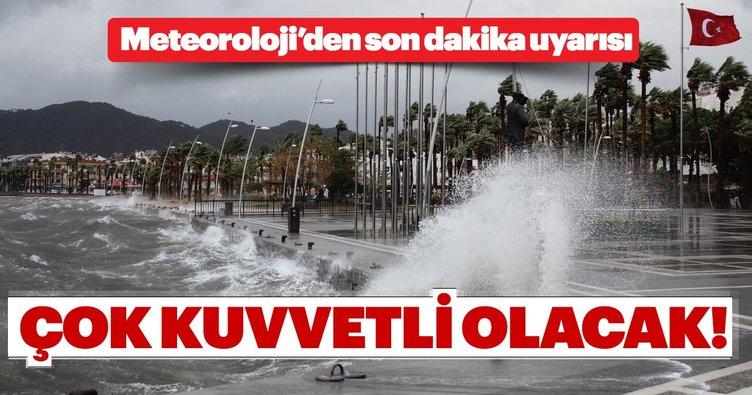 Meteoroloji'den Marmara ve Ege için son dakika uyarısı! Çok kuvvetli olması bekleniyor...