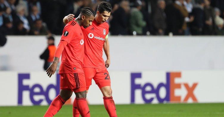 Beşiktaş, Malmö deplasmanından çıkamadı