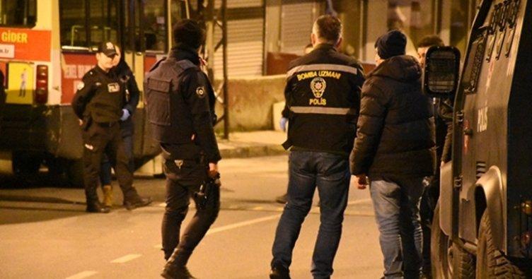 İstanbul'da bir iş yeri önüne bırakılan EYP patladı