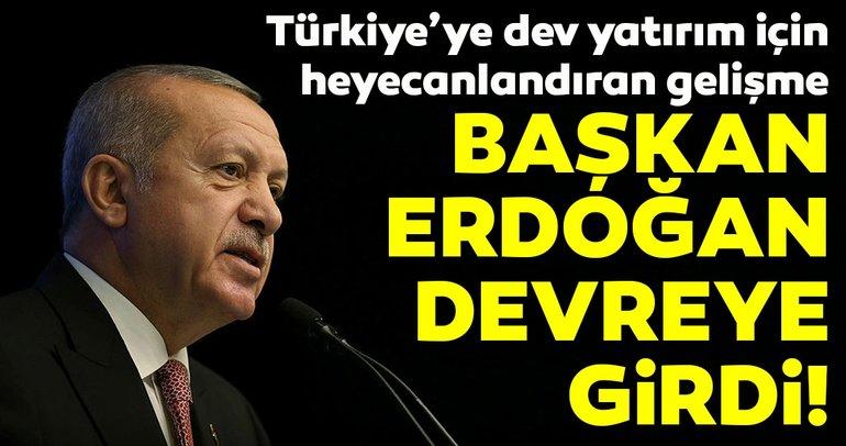Volkswagen'in Türkiye'ye yatırım iddialarının ardından Başkan Erdoğan devreye girdi!