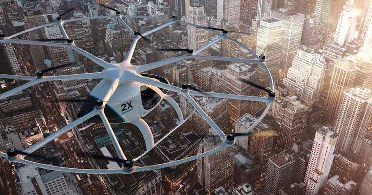 Dubai'de uçan taksiler çalışacak