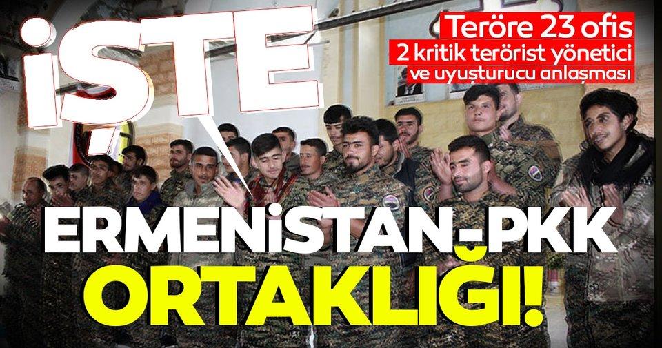 İşte Ermenistan-PKK ortaklığının belgesi! Hain protokolun detayları SABAH'TA