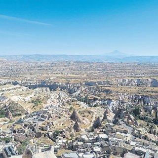 Gezegen içinde büyülü bir gezegen Kapadokya