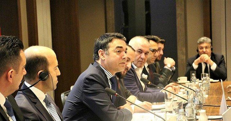 Türkiye Mezunları Bakan Dimitrov'u ağırladı