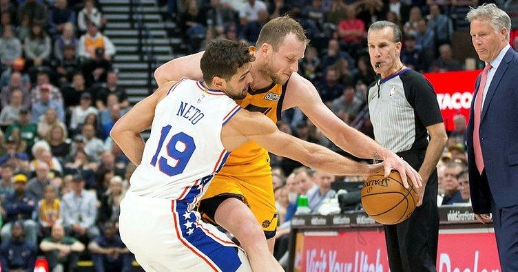 Çekişmeli mücadelede kazanan Utah Jazz