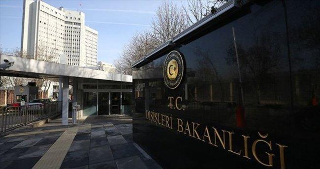 """Dışişleri Bakanlığından """"mektup"""" açıklaması"""