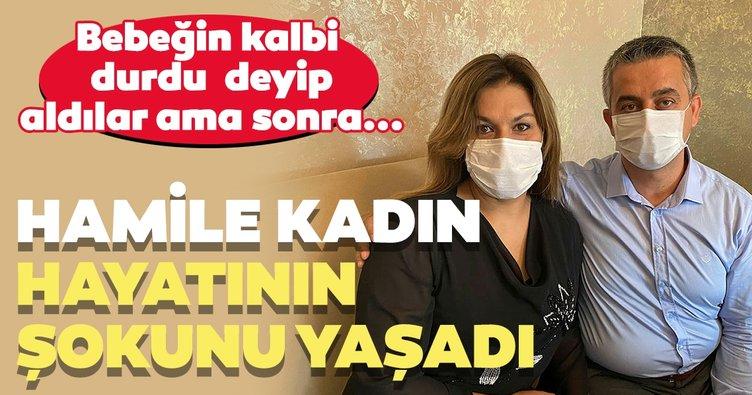 İstanbul'da şoke eden olay! Hamile kadına bebeğinin kalbinin durduğunu söylediler ve...