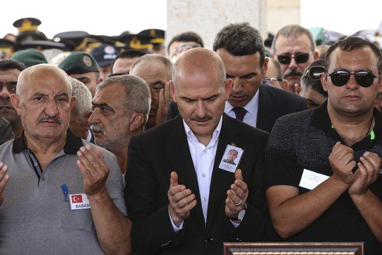 Şehit Özel Harekat Şube Müdürü Tufan Kansuva, Ankara'da toprağa verildi