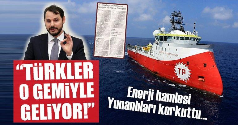 Türkiye'nin Akdeniz çıkarması Yunan'ı paniğe soktu