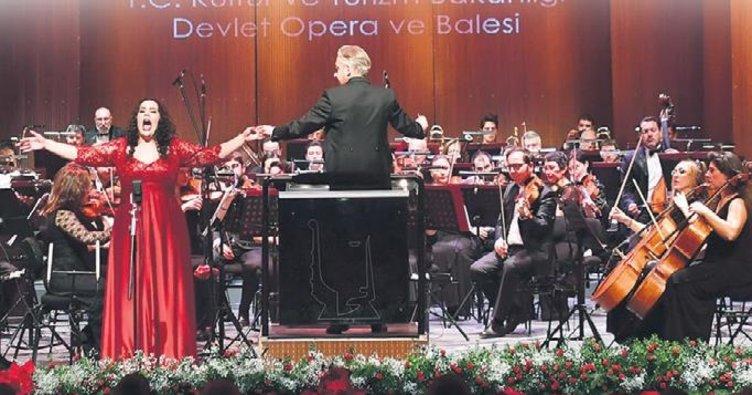 Kapalı gişe opera konseri