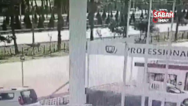 Sürücüyü gözyaşlarına boğan ölümlü kaza güvenlik kamerasında | Video