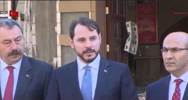 Berat Albayrak Adana'daki terör saldırısı hakkında açıklamada bulundu