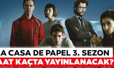 La Casa De Papel 3.sezon 1. bölüm saat kaçta yayınlanacak? La Casa De Papel yeni sezon ilk bölümü ne zaman başlıyor?