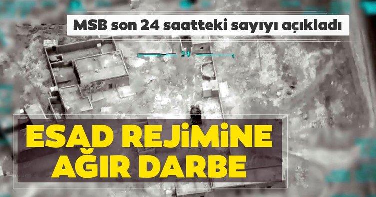 Son dakika: MSB'den 'Bahar Kalkanı' açıklaması