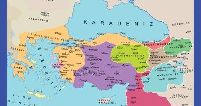 Anadolu'da kurulan ilk türk beylikler ve eselerleri nelerdir?