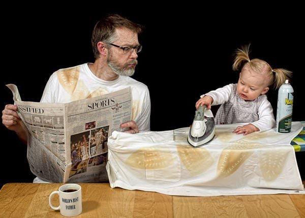 Babaya bebek emanet edilirse