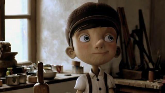 Pinokyo filminden kareler