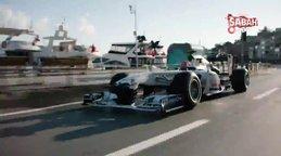 Formula 1'den İstanbul paylaşımı | Video
