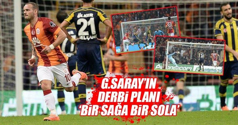 Galatasaray'ın en büyük kozu: Sneijder!