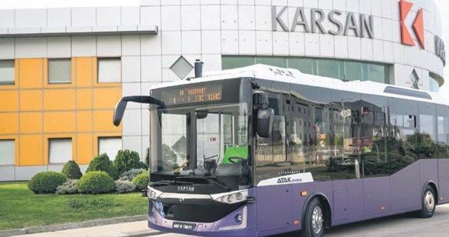Sürücüsüz otobüs için işbirliği