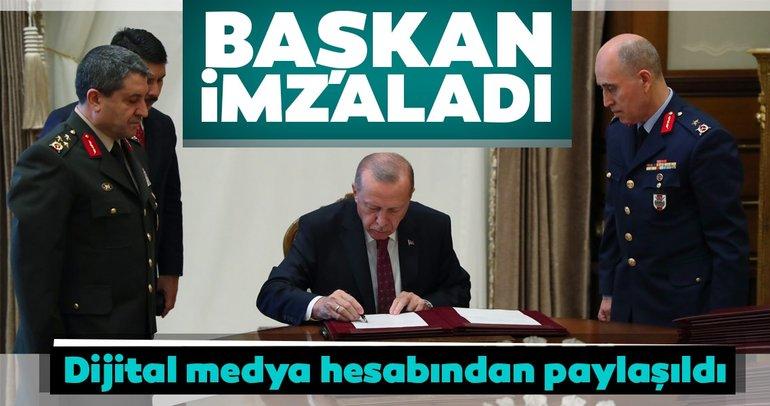 Son dakika... Erdoğan, YAŞ kararlarını onayladı!
